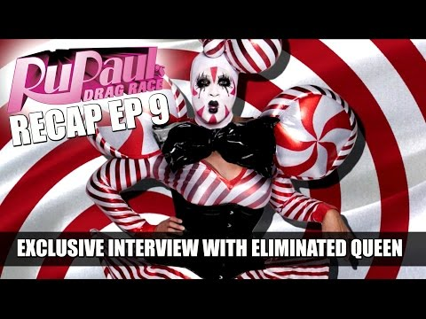 Rupaul's Drag Race Recap EP 9 with Peppermint & Valentina