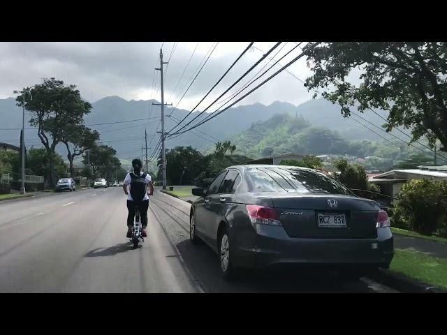 Manoa Falls Ride and Hike