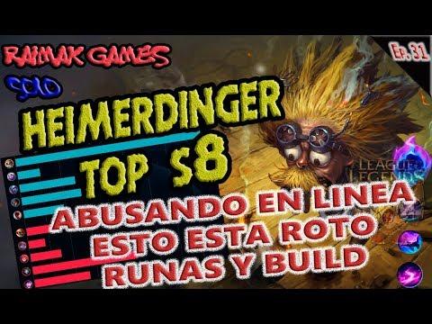 Build Heimerdinger Top S