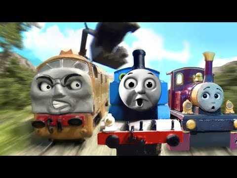 Thomas & the Magic Railroad Chase Scene Remake HO/OO