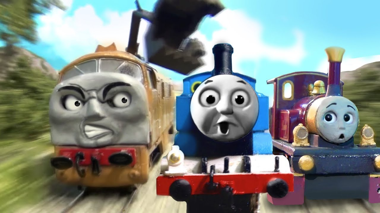 thomas and friends meet diesel 10 chase