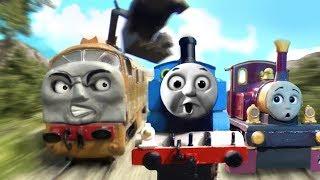 thomas the magic railroad chase remake ho oo