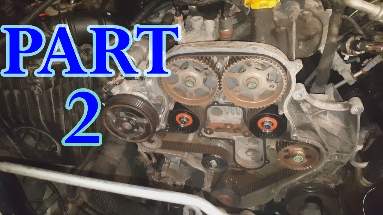 jeep liberty 2.8 crd timing belt part 2 - youtube  youtube