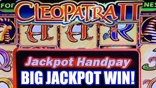 HIGH LIMIT CLEOPATRA 2 SLOT JACKPOT! ★ MASSIVE WIN HANDPAY!