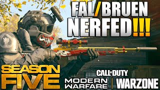 FAL/Bruen Nerf & Holger Buff   What Actually Changed in the Update?   Modern Warfare News & Updates