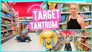 GIRLS THROW TANTRUM IN TARGET!!!