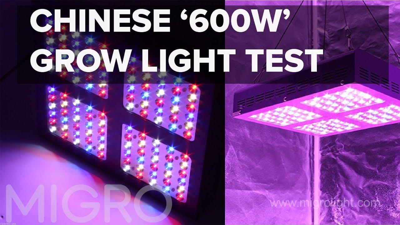 Chinese grow light review & tear-down