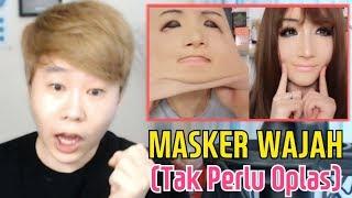 REAKSI ORANG KOREA JEBRETTT!!! MENONTON MASKER OPLAS (MAKEUP CHALLENGE)