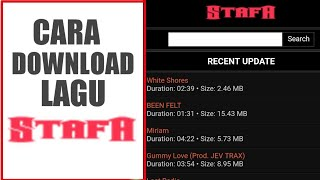 Download Cara Download Lagu Stafaband