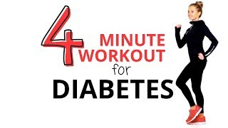 Exercise is the best medicine for diabetes which why i created this low impact easy to follow 4 minute workout. lucy lifestyle guide 🌸🍉👟👟☛https://bit.ly/2...