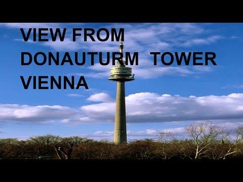 DANUBE TOWER VIENNA [Donauturm Wien] VIEW FROM TOWER/2017