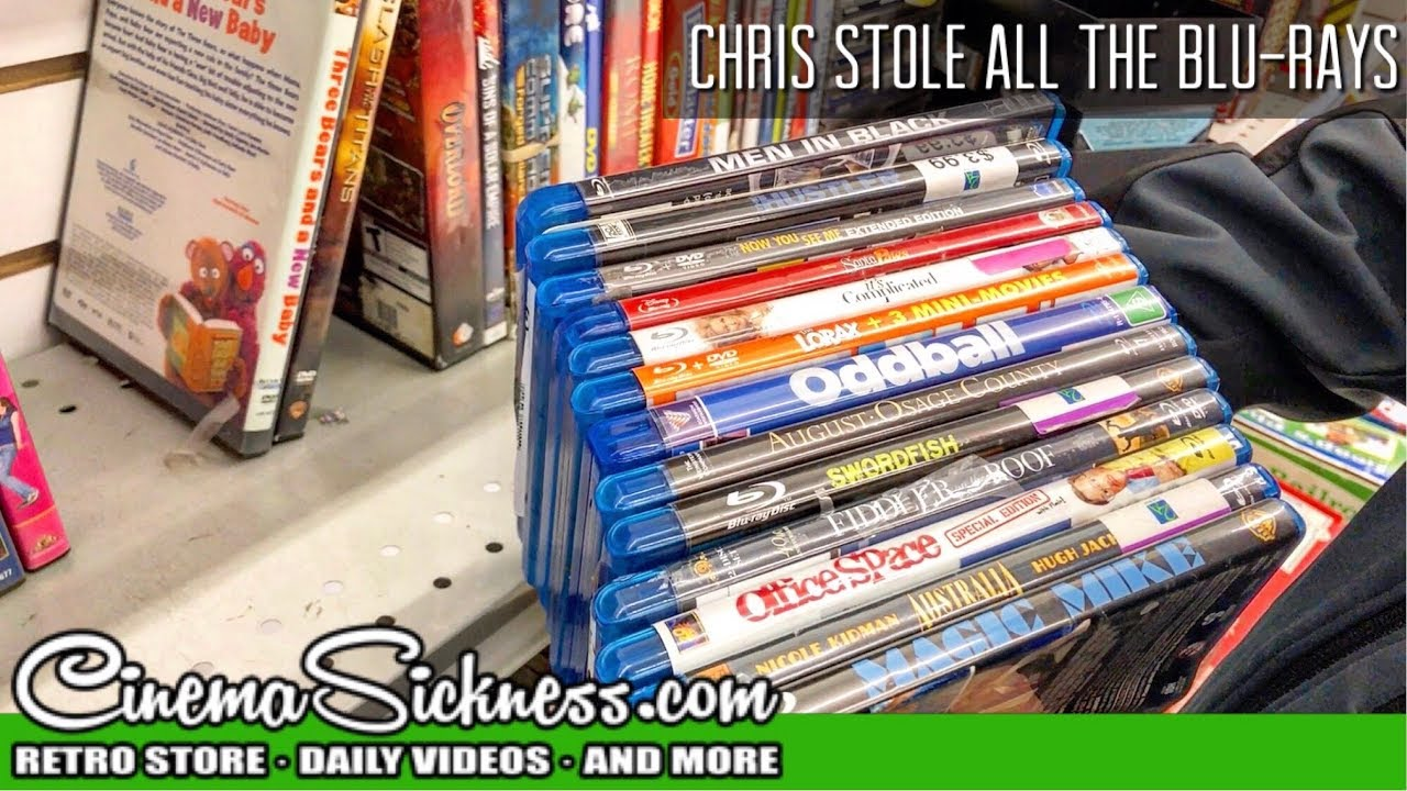 Download Chris Stole All The Blu-rays