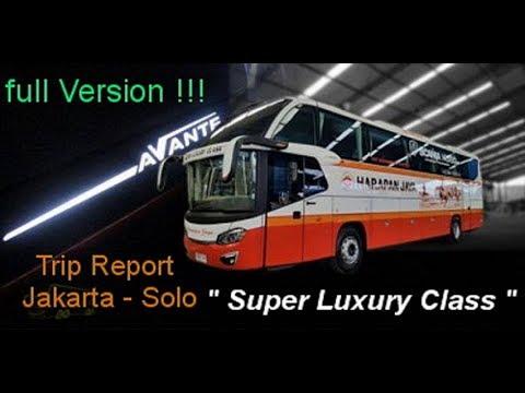 "Trip Report Touring Mewah Harapan Jaya ""Super Luxury Class"" Scania K360ib Jakarta - Solo"