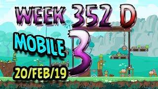 Angry Birds Friends Tournament Level 3 Week 352-D MOBILE Highscore POWER-UP walkthrough