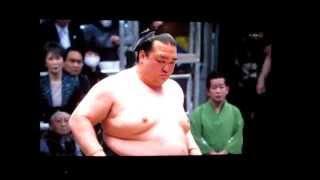 稀勢の里vs玉鷲 平成27年大相撲春場所 Kisenosato vs Tamawashi SUMO.