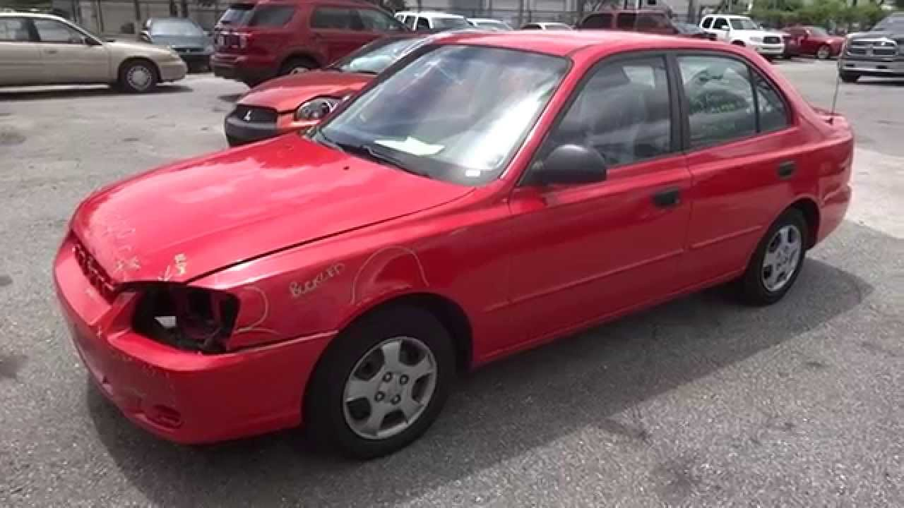 medium resolution of my wife s 2002 hyundai accent is sadly no more