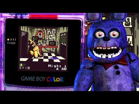 FNAF ON GAMEBOY JUST GOT A LOT HARDER... NIGHT 5! || Five Nights at Freddy's Pocket Horror thumbnail
