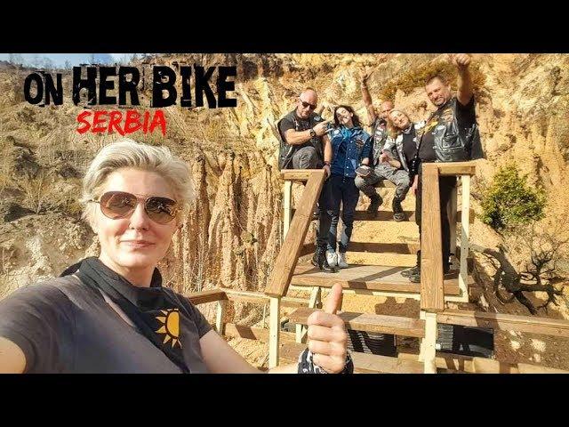 Serbia. On Her Bike Around the World. Episode 32