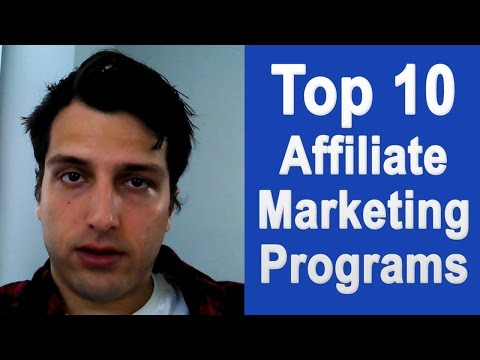 Top 10 Affiliate Marketing Programs (Best Networks for Beginners)