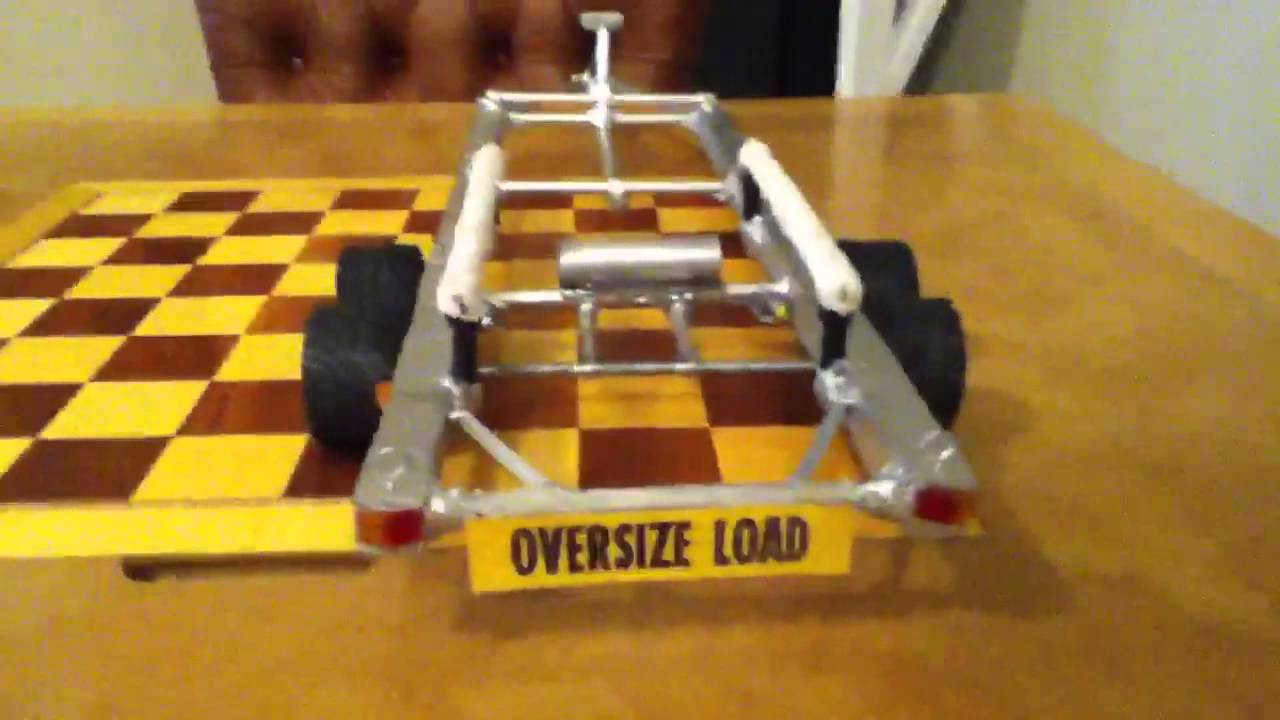 how to build a rc boat trailer