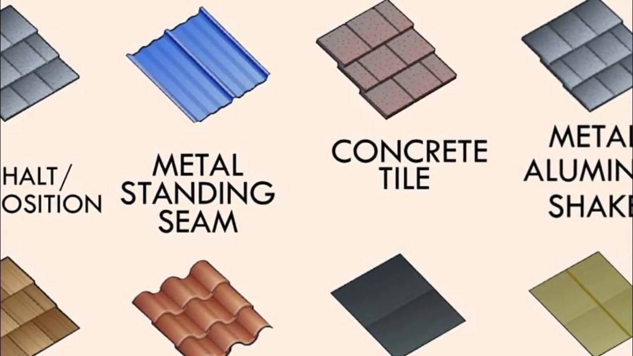 Commercial flat roof construction types uk youtube for Different types of roof construction