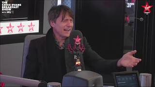 Brett Anderson on The Chris Evans Breakfast Show with Sky