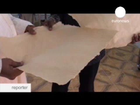euronews - reporter - Les livres de Tombouctou