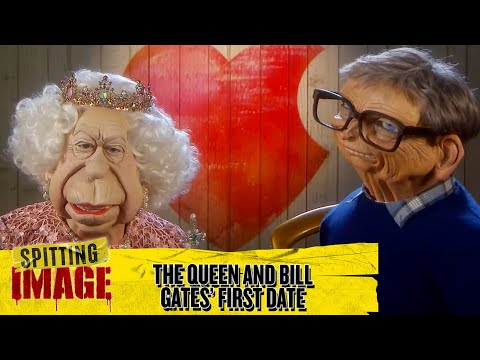 The Queen and Bill Gates Go on First Dates | Spitting Image