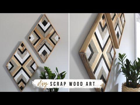 diy-wall-art-decor-with-scrap-wood!