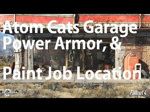 Fallout  Atom Cat Paint Job