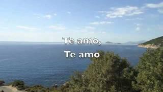 Azuro Feat. Elly Ti Amo (texto en español)