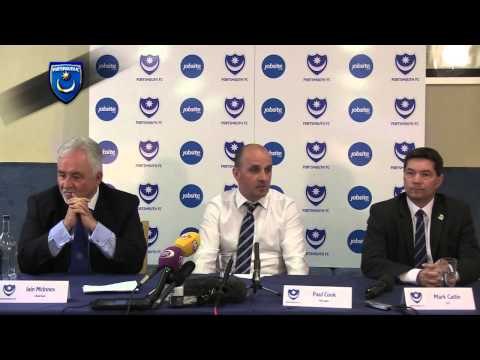 Full Paul Cook Press Conference