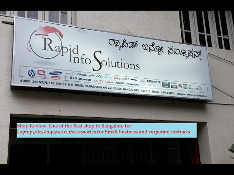 Best Computer Shop in Bangalore for Small / Corporate business