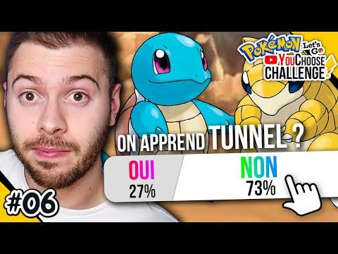ON APPREND TUNNEL ? - Pokémon Let's Go - YouChoose Challenge #6