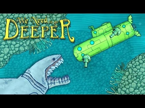 New Submarine's Deadly Deep Sea Adventure! - We Need To Go Deeper Gameplay - Update
