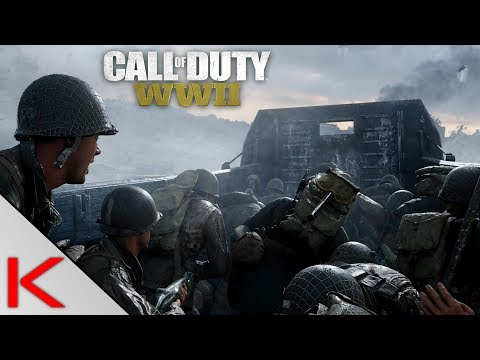 Call of Duty: WW2 | KAMPANIA | Desant na plażę Omaha (#1)