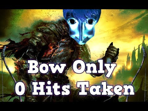 Worlds First 0 Hits Taken Bow Only Run - Dark Souls 3
