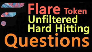 Unfiltered Hard Hitting Questions Flare Spark Token Distribution Answered in a Unique Format Video