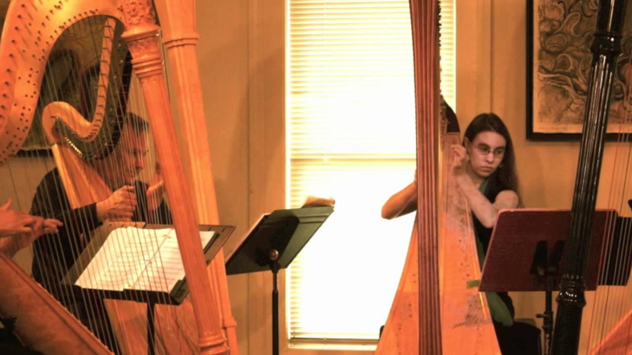 Modern Harp Quartet Kerrytown Live 3 Youtube