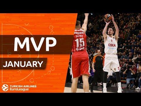 Turkish Airlines EuroLeague MVP for January: Nando De Colo, CSKA Moscow