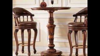 Барные стулья классика. Стул барный 0763. Коллекция TUDOR .(Подробнее о барном стуле 0763 на страницах нащего интернет-магазина мебели