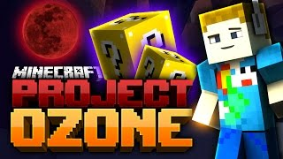 Minecraft: THE UNLUCKY GHAST BLOCK | Project Ozone - Ep: 01