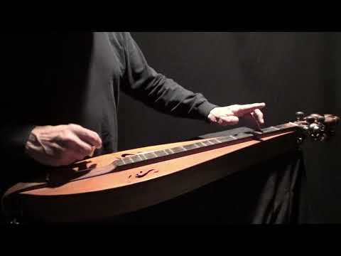 """SWEET BUNCH OF VIOLETS"" on Dulcimer"