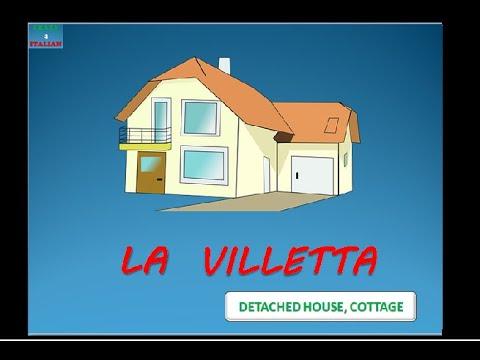 Italian vocabulary the house types of house vocaboli for Tipi di case in italia