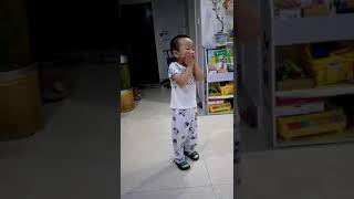 Crazy freestyle dancing ~my lovely boy