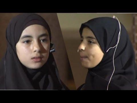 حوار شائق بين تلميذتين شاهد وحفز أبناءك وبناتك Youtube