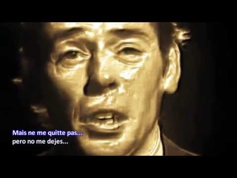 Jacques Brel Traducido ► Ne Me Quittes Pas