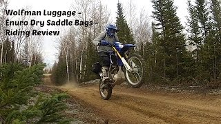 Wolfman Luggage Riding Review