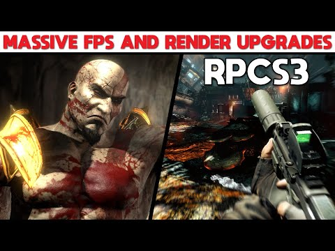 RPCS3 | Massive FPS and Render Upgrades to God of War 3 & Killzone 3