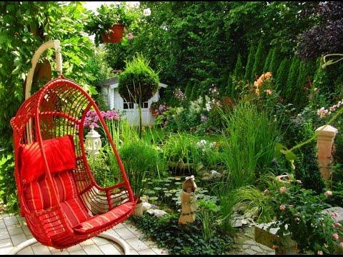 Садовые качели 30 примеров качелей для дачи